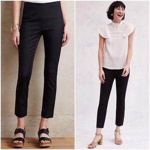 Anthropologie Black Stretch Essential Skinny Pant